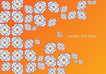 Portuguese Tile Abstract - Kostenloses vector #374651