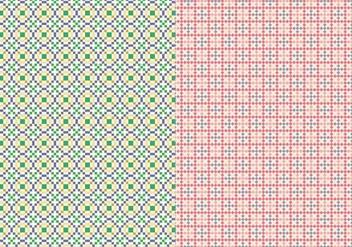 Stitch Geometric Pattern - Free vector #374911