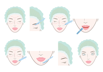 Plastic Surgery Vector - бесплатный vector #374921