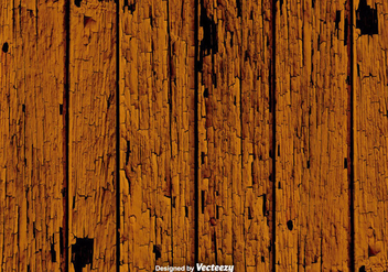 Grunge Brown Wood Planks Vector Texture - vector gratuit #375481