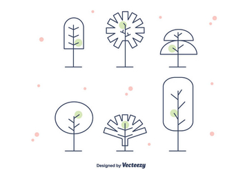 Geometrical Tree Vector - Free vector #375571