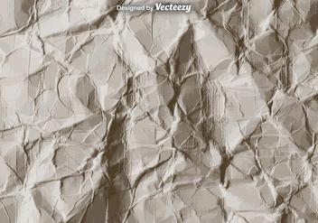 Vector Crumpled Paper Texture - Free vector #375741
