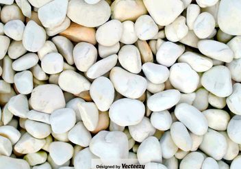 Pebble-Stone Path Close Up - Vector Background - Free vector #376261