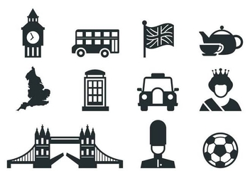Free England Icons Vector - Free vector #377031