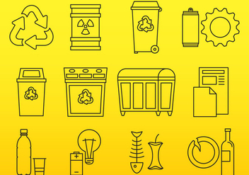 Trash Icons - vector #377271 gratis