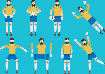 Goal Keepers - Free vector #377291