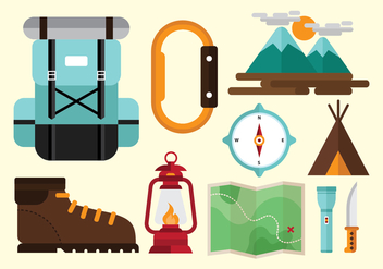 Free Mountaineer Vectors - бесплатный vector #377331