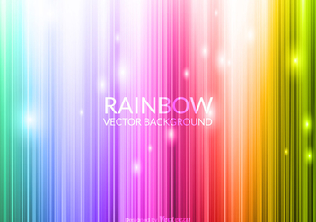 Free Vector Glowing Rainbow Background - Kostenloses vector #377731