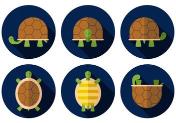 Vector Turtle - vector #377851 gratis
