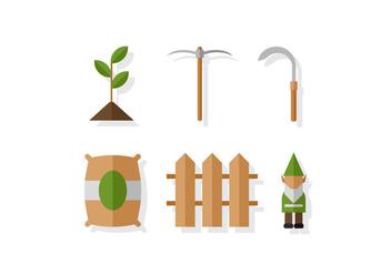 Vector Gardening - vector gratuit #378281