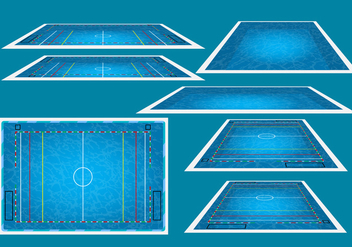 Water Polo Arena - vector gratuit #378371