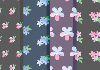 Vector Floral Patterns - Kostenloses vector #378721