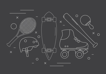 Free Sport Vector Icons - Free vector #379381