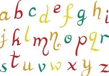 Free Alphabet Vectors - Kostenloses vector #379461