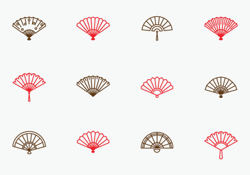 Free Simple Spanish Fan - vector #379551 gratis