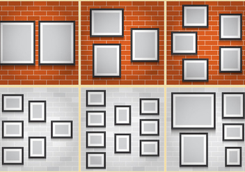 Collage Walls - vector gratuit #379601
