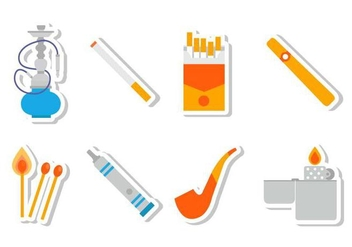 Free Smoke Icons Vector - бесплатный vector #379781