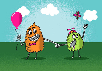 Monster Outing - Free vector #380341