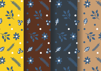 Free Floral Pattern Vector - Free vector #380791