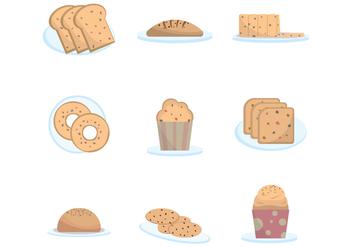 Free Raisin Cakes Vector - vector gratuit #380821