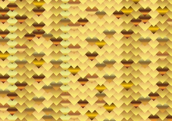 Chainmail Gold Background - Free vector #381711