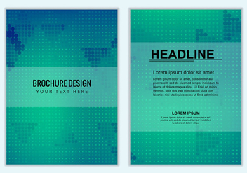 Free Vector Business Brochure - vector #381751 gratis