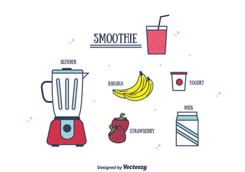 Smoothie Vector - vector #382071 gratis