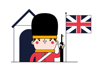 Free English Guard Vector - vector #382691 gratis