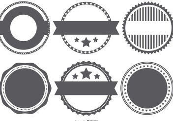 Vector Badge Stempel Shapes - Free vector #382851