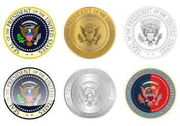Free Presidential Seal Logo Vector - Free vector #383251