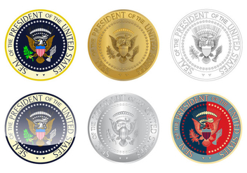 Free Presidential Seal Logo Vector - Kostenloses vector #383251