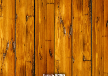 Vector Wood Background - бесплатный vector #383461