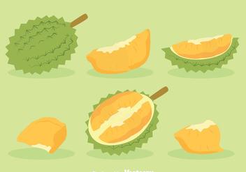 Durian Fruit Vector - Free vector #383571