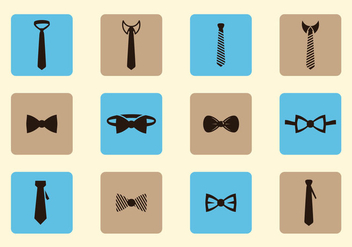 Neck Tie Collections - vector gratuit #383691