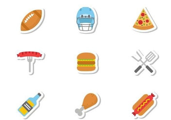 Free Tailgate Icons Vector - Free vector #383841