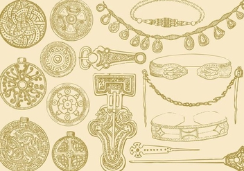 Celtic Jewelry - Free vector #383861