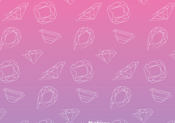 Line Gems Pattern - Free vector #384301