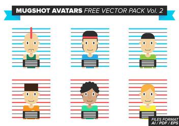 Mugshot Avatars Free Vector Pack Vol. 2 - Free vector #384321