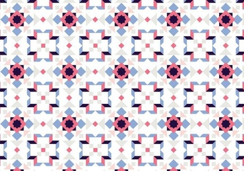 Mosaic Pastel Pattern - Free vector #385031