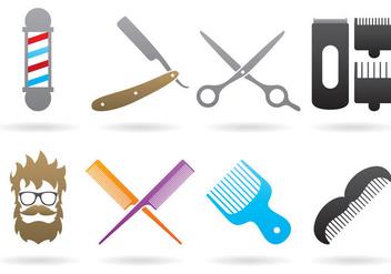 Barber Logos - Free vector #385251