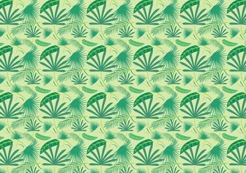 Free Palm Leaf Vector - Kostenloses vector #385301