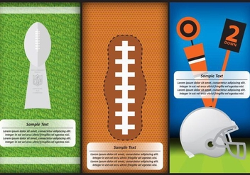 Football Templates - vector #385471 gratis