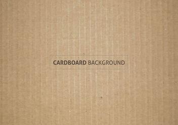 Free Vector Cardboard Texture - Kostenloses vector #385811