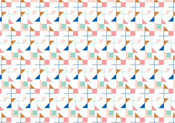 Geometric Pattern - vector gratuit #386431