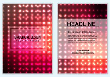 Free Vector Colorful Brochure Background - Kostenloses vector #386891