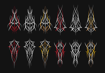 Pinstripes Design Free Vector Download 387929 Cannypic