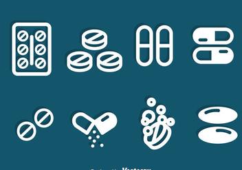 Medicine Icons Vector - Kostenloses vector #387481