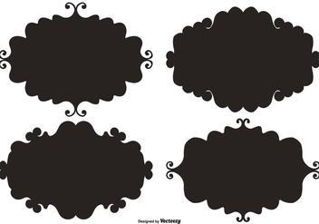 Doodle Vector Label Frames - Free vector #387741