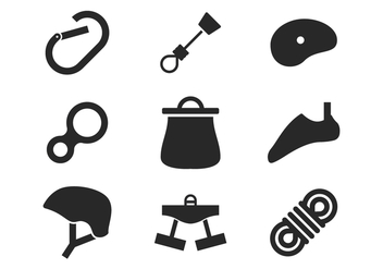 Climbing Icons - Free vector #387871