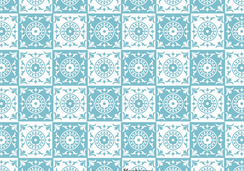 Traditional Tiles Pattern Vector - vector #388111 gratis